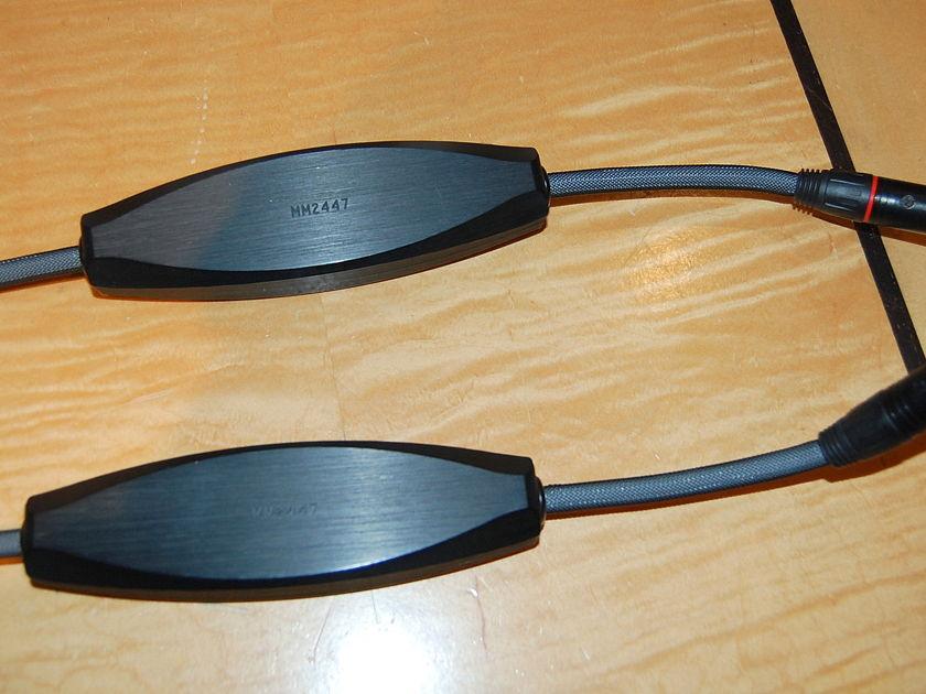 "Transparent Audio Balanced Musiclink XL -SS 2m balanced interconnect, ""MM"" version"