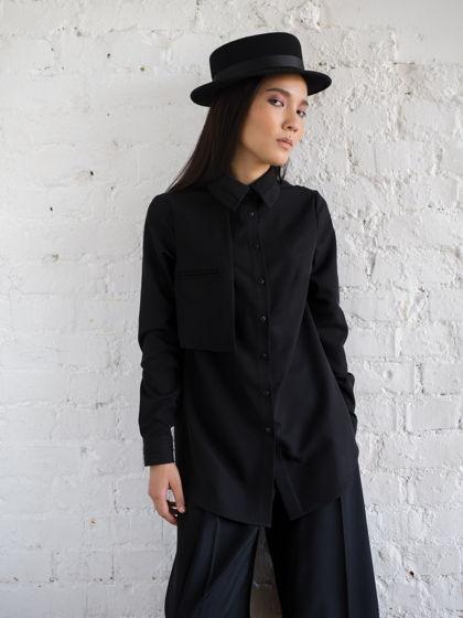 Блуза L.O. чёрная
