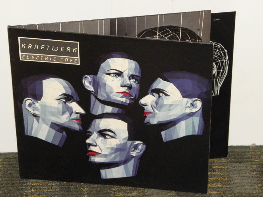 Kraftwerk  - ELECTRIC CAFE German pressing EMI Kling Klang