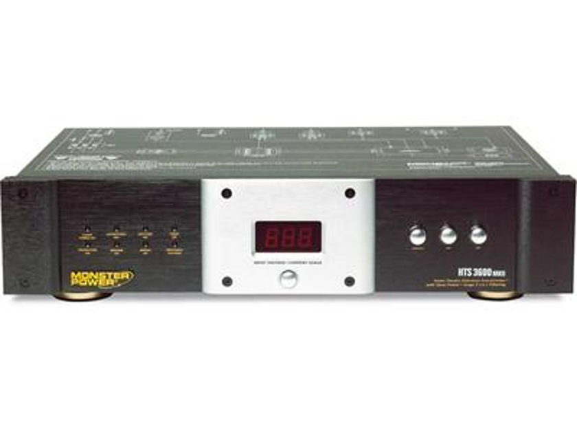 MonsterPower HTS 3600 MKl Excellent Home Theater Power Center