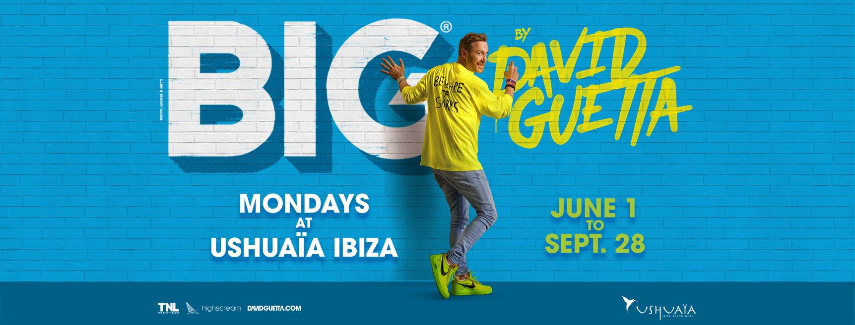 BIG David guetta 2020 news 2020 season Ibiza party calendar