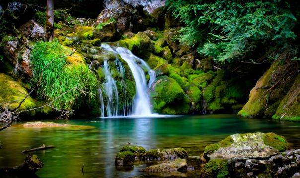 Затерянный мир - пещеры и водопады
