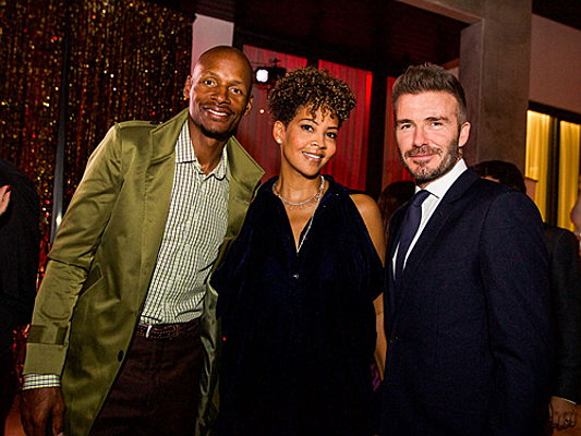 Sintra - In his role as Unicef ambassador, David Beckham invites numerous celebrities to an event in a property owned by Engel & Völkers.