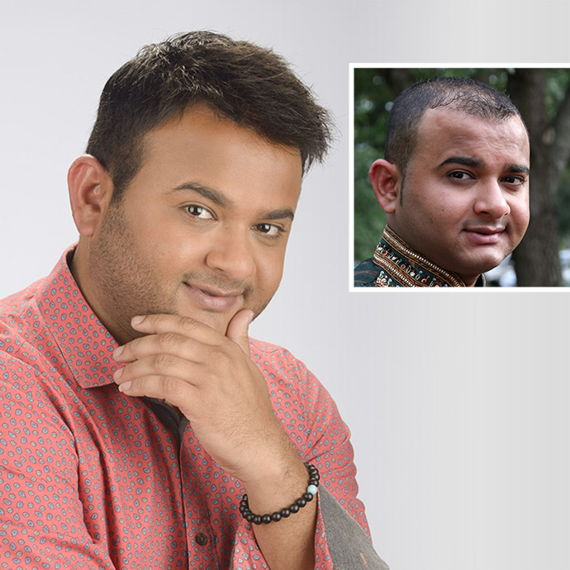 Harshil's before and after photo