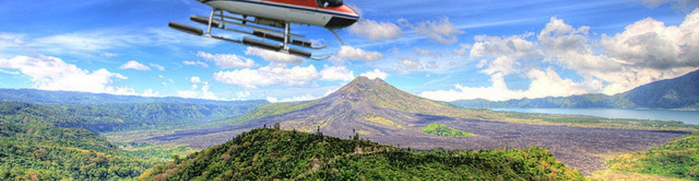 Полет на вертолете — Лучшее на Бали