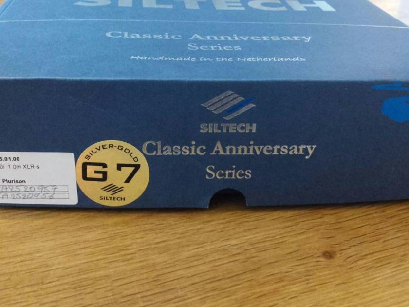 Siltech Cables Classic 550i G7 Balanced