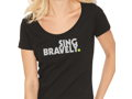 Sing Bravely T-Shirt