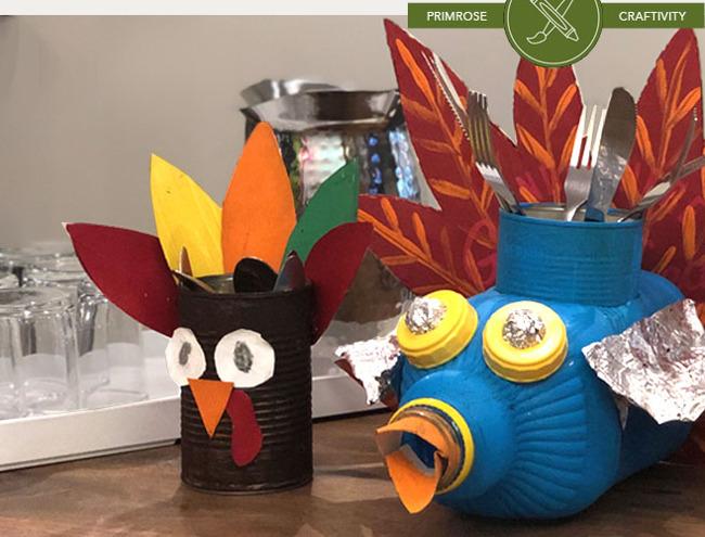 upcycled creativity make a turkey