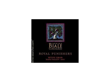 Robert Biale Vineyards Royal Punishers Petite Sirah 2015 - RP 92
