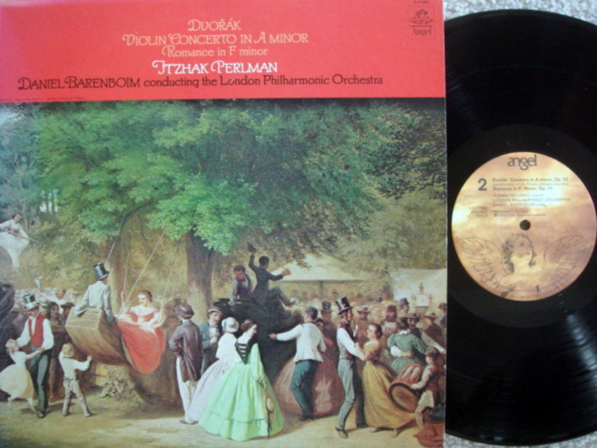EMI Angel / PERLMAN-BARENBOIM, - Dvorak Violin Concerto, NM!