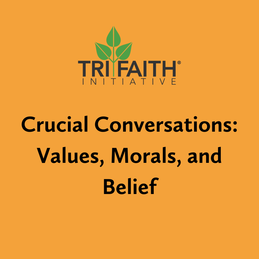 Picture of Crucial Conversations are a way for community members to come together and discuss the difficult aspects of religion.
