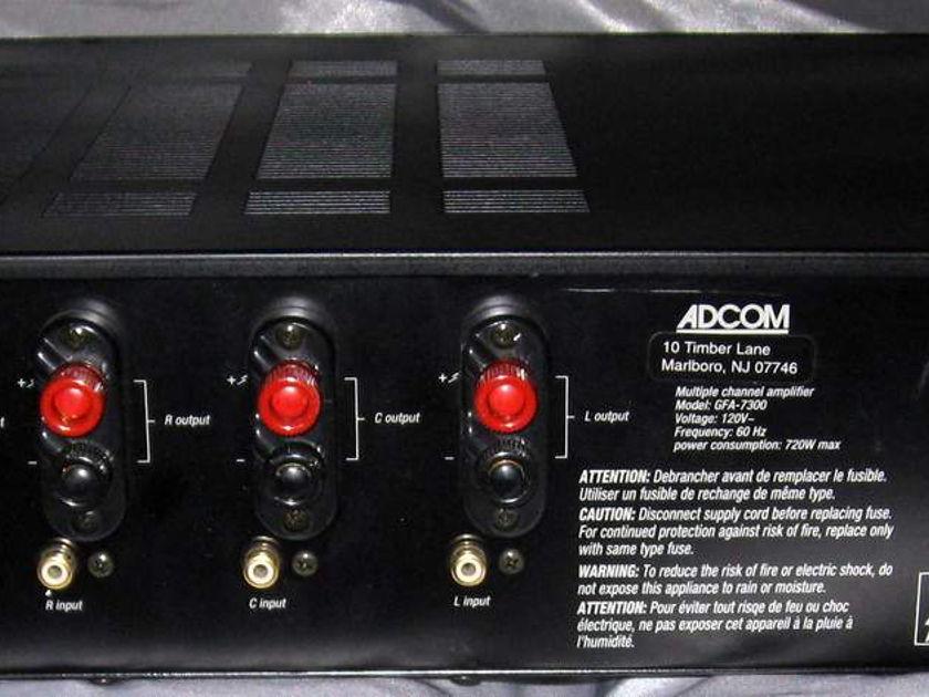 Adcom GFA-7300 5 channel power  amplifier