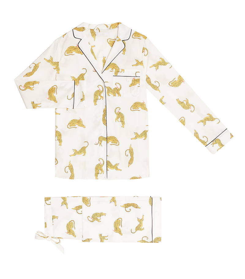 YOLKE Cotton Pyjama Sets | Prowling Leopard Cotton Pyjama Set