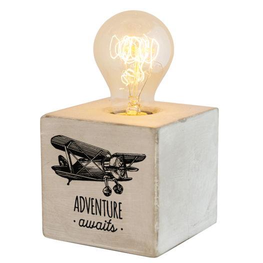 Бетонный светильник с диммером ADVENTURE AWAITS
