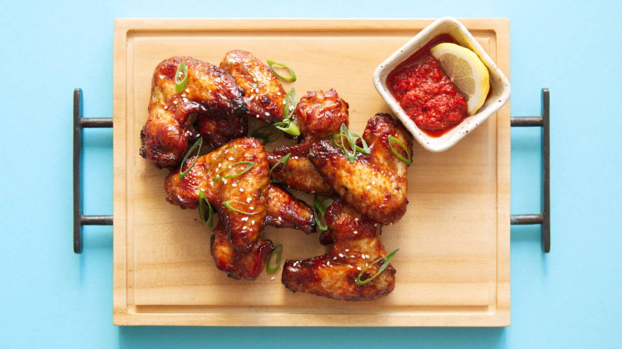 Honey Soy Sauce Chicken Wings