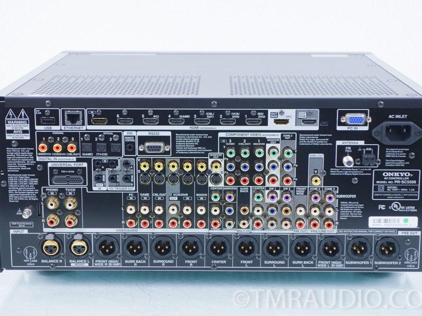 Onkyo  PR-SC5509  9.2 Ch Home Theater Preamplifier / Processor (8112)