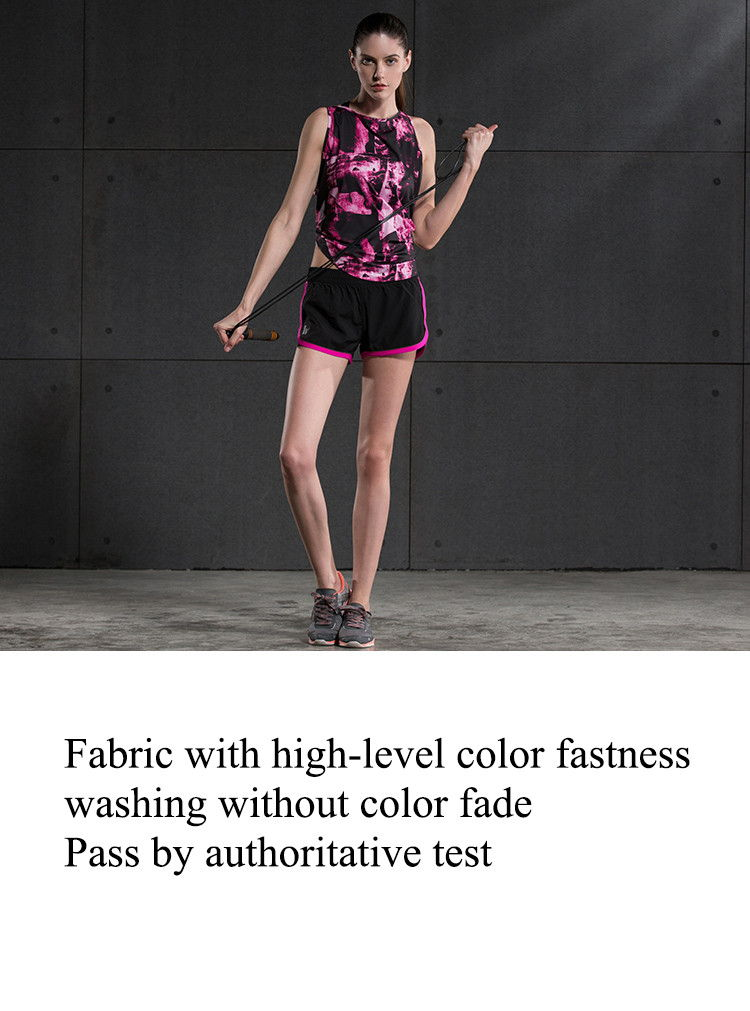 Fabric with haigh-level color fastness, washing without color fade, pass by authoritative test.