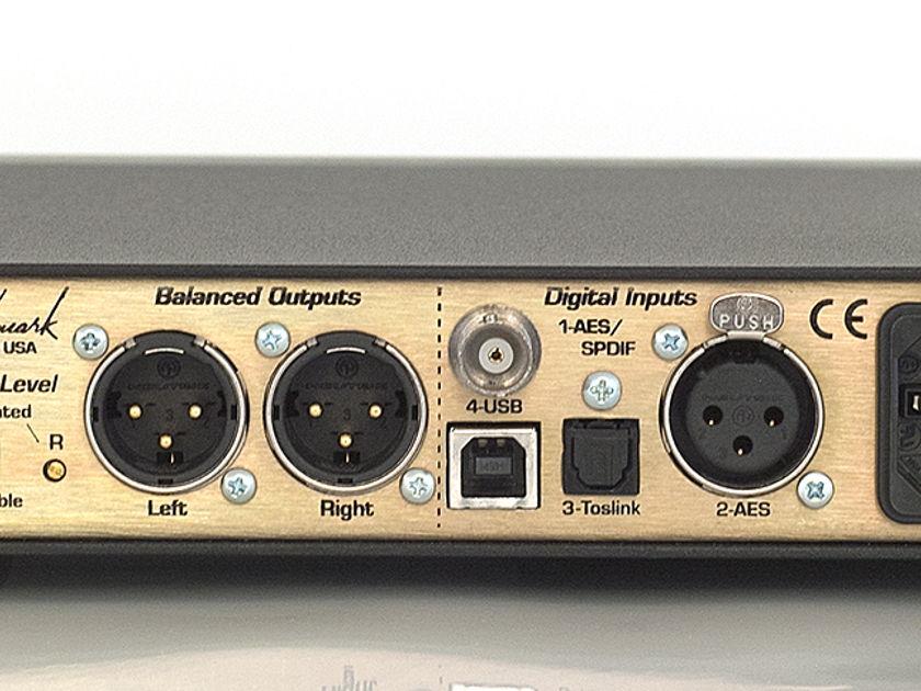 Benchmark Media Systems DAC 1 USB Silver