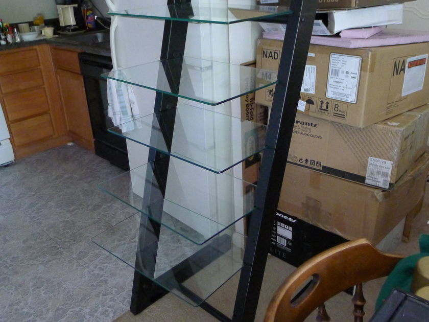 bellows glass steel cabinet can hold 7 units