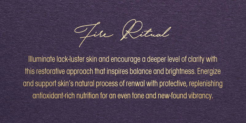 The air skin rhythm skin dry skin type ritual