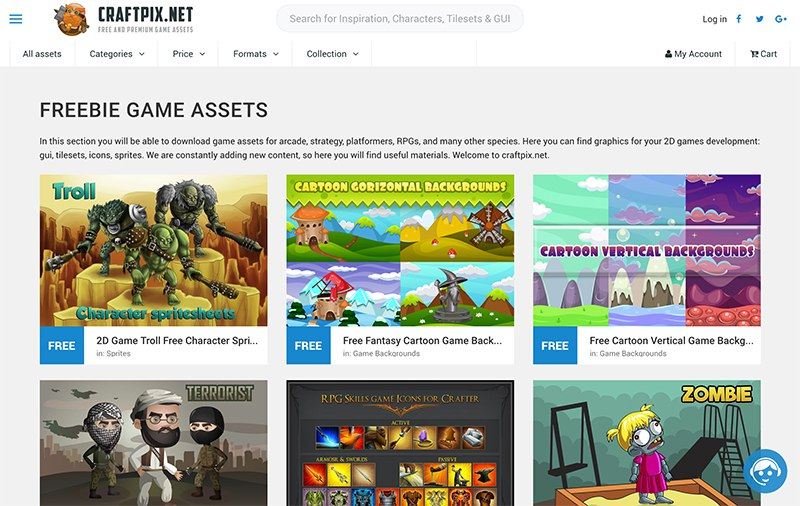 13 Best sources of royalty free game assets as of 2019 - Slant