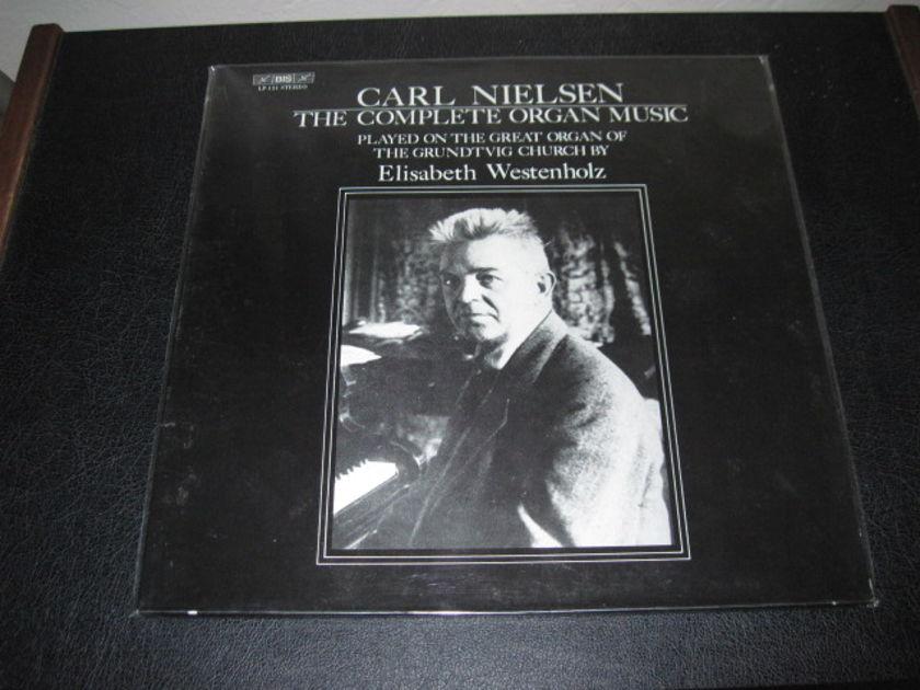 """CARL NIELSEN - """"The Complete Organ Music"""" LP/Vinyl"""