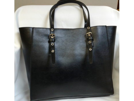 Black Bergen Tote by Mondani