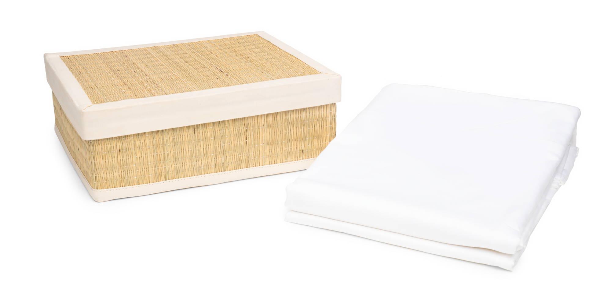 DOPLNOK-Organic-Cotton-Bed-Sheets-Gift-Box