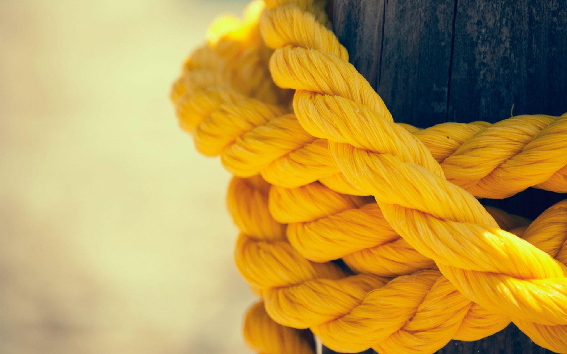 yellow rope image