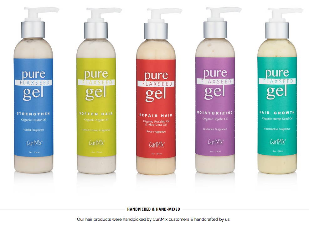 CurlMix Products