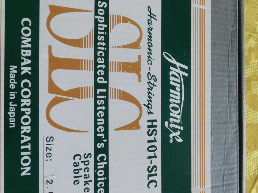 Combak Harmonix HS101-SLC speaker cables 2.0m