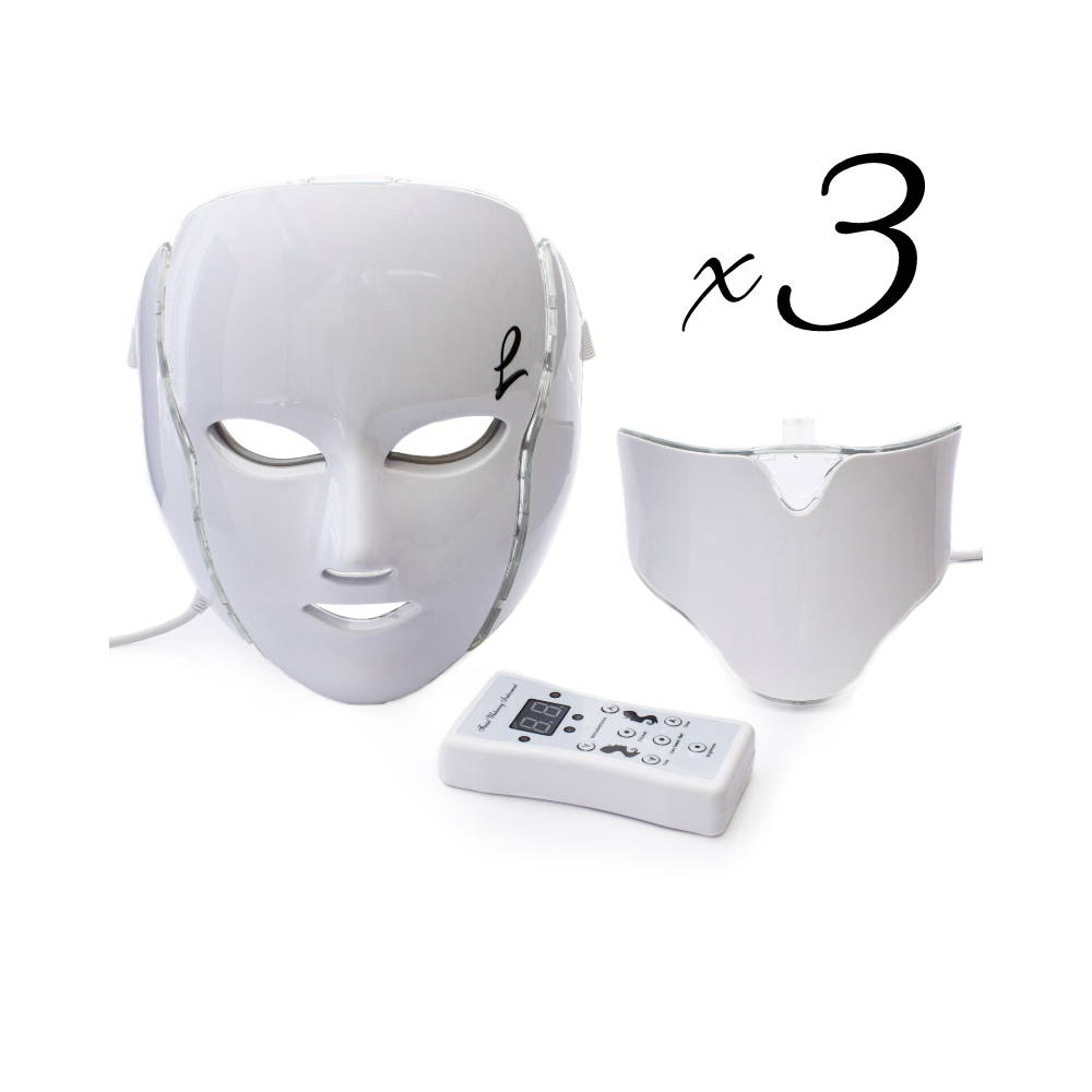 acne light mask, acne light therapy, led face mask for rosacea