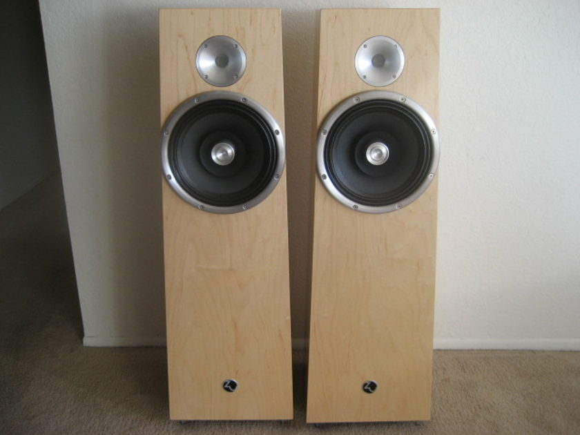 Zu Soul Speakers 6 Mos Old Bested Zen Spendor Sonus Faber Mundorf Caps 'Natural' Veneer