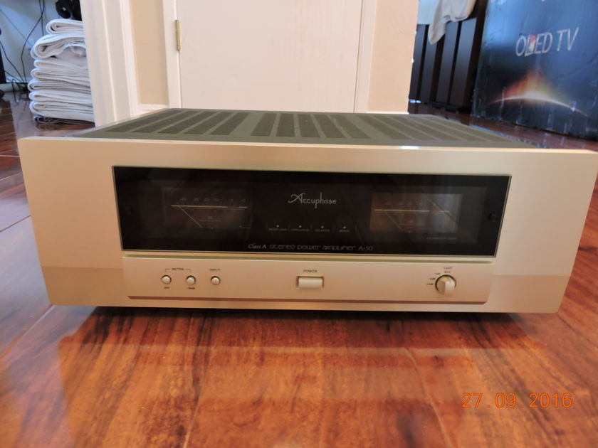 Accuphase A30 30w full class A amplifier