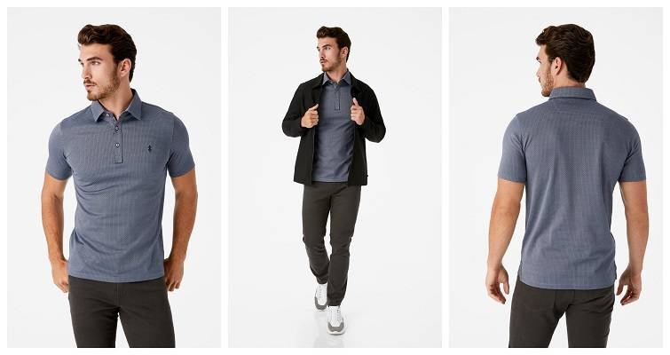 Polo Shirts and Infinity® 4-Way Stretch Jacket