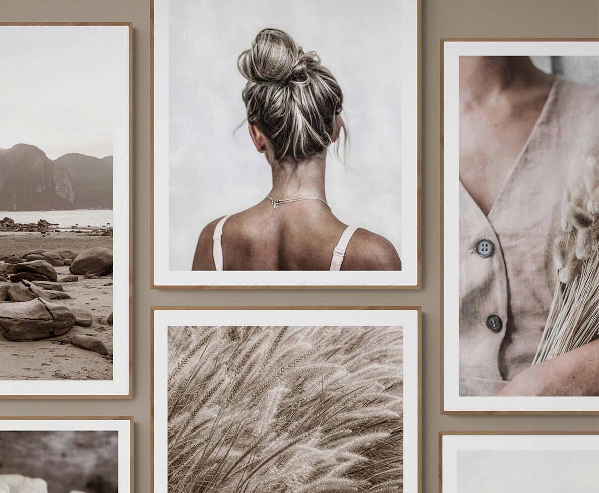 Unik fotokonst och fotografisk konst