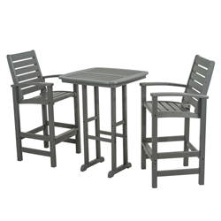 Polywood Signature 3-Piece Bar Set >