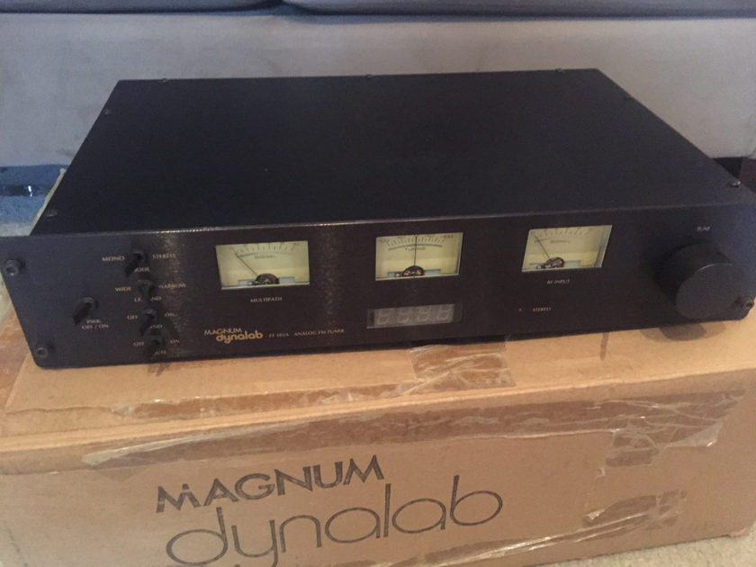 Magnum Dynalab FT-101a trade in save $$$$