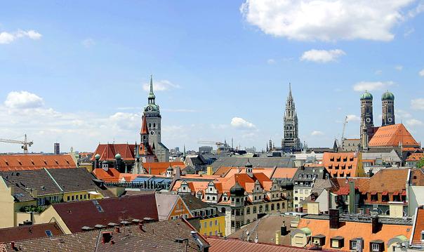 Пешеходная обзорная экскурсия по Мюнхену