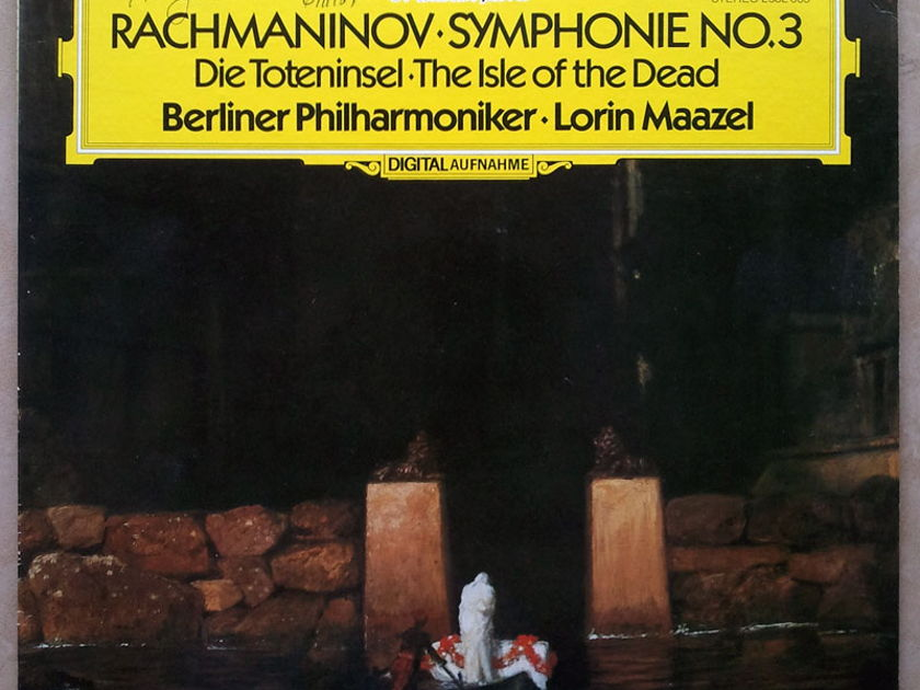 DG/Maazel/Rachmaninoff - Symphony No.3, Isle of the Dead / NM