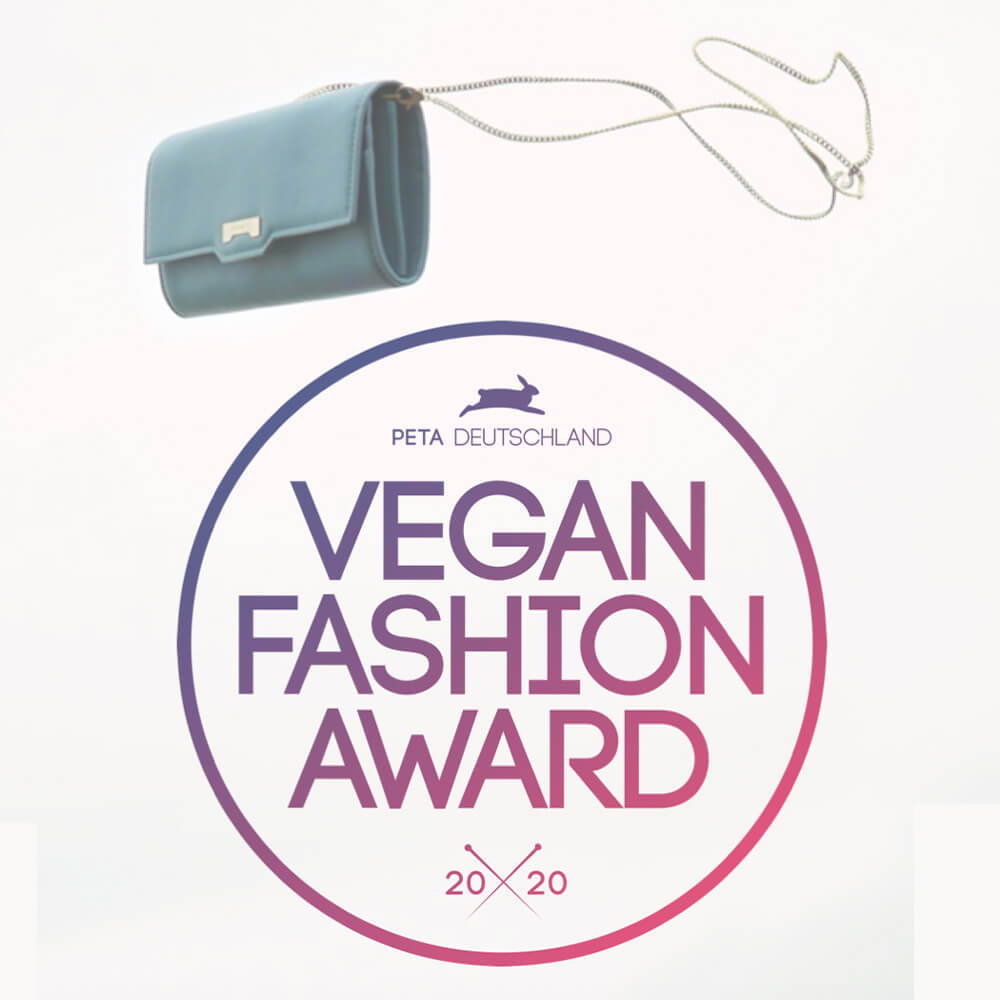 Jenah St. awarded Best Women Accessories by the PETA Vegan Fashion Awards 2020.