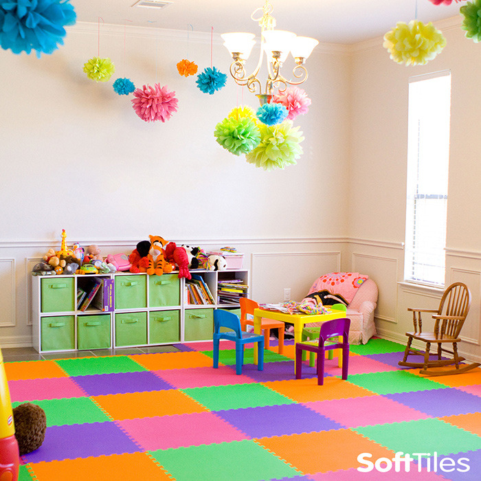 Colorful Playroom Design