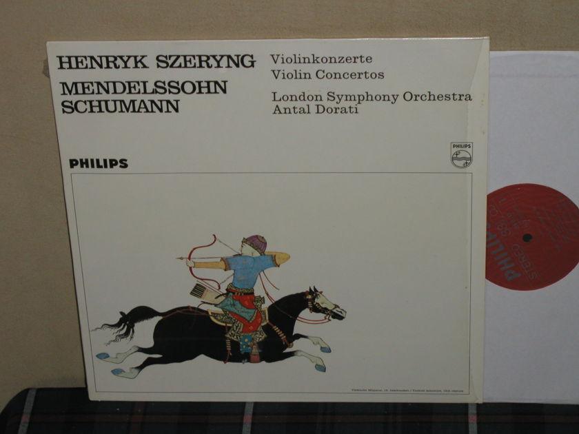 Szeryng/Dorati/LSO - Mendelssohn Violin Cto Philips Import LP 838 LY