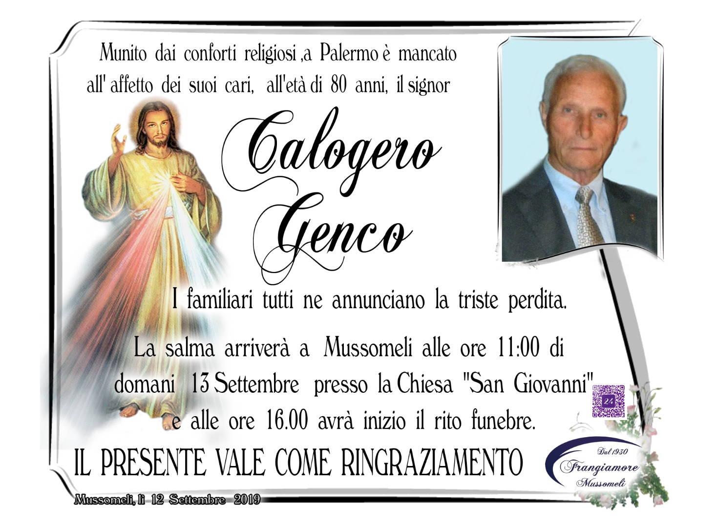 Calogero Genco