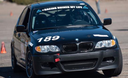 BMW CCA Autocross at SDCCU Stadium West Lot