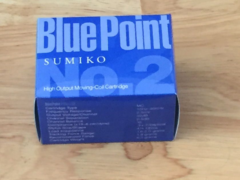 SUMIKO BLUE POINT #2 High Output Moving Coil Cartridge MC CARTRIDGE