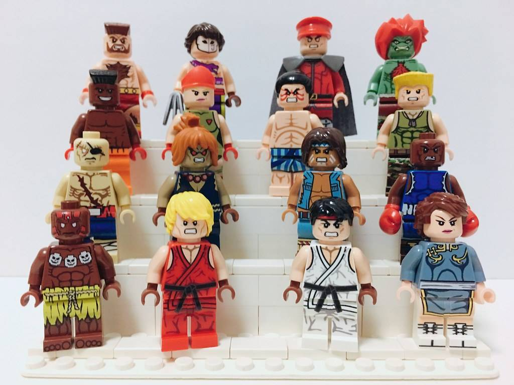 Street Fighter LEGO Minifigures