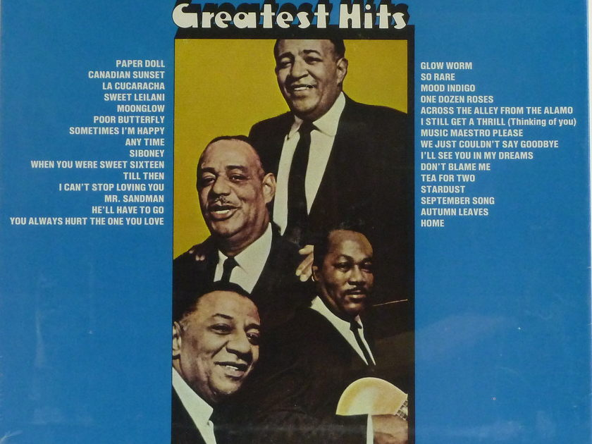 The MILLS BROTHERS - Greatest Hits, 3 LPs Perfect, Still Sealed Set