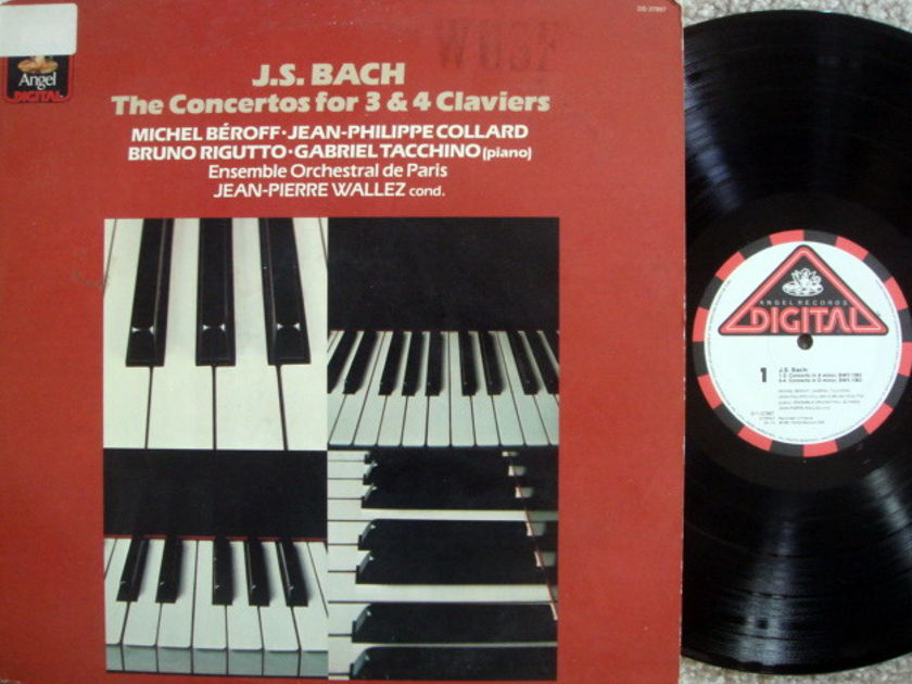 EMI Angel Digital / WALLEZ,  - Bach Conertos for 3 & 4 Pianos, MINT!