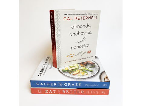 3 Cookbooks by Bestselling Authors